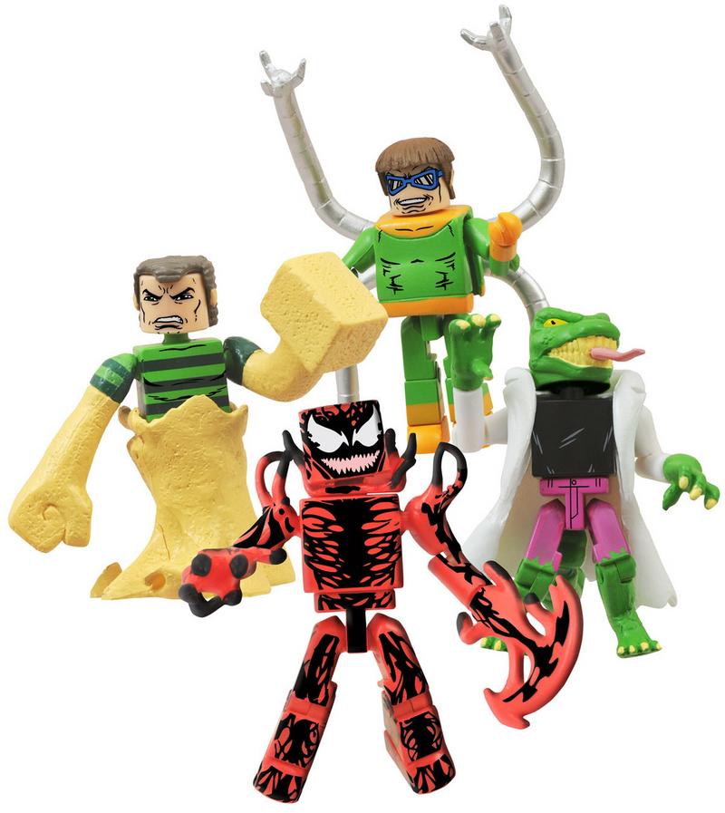 Sandman, Doctor Octopus, Lizard, Carnage