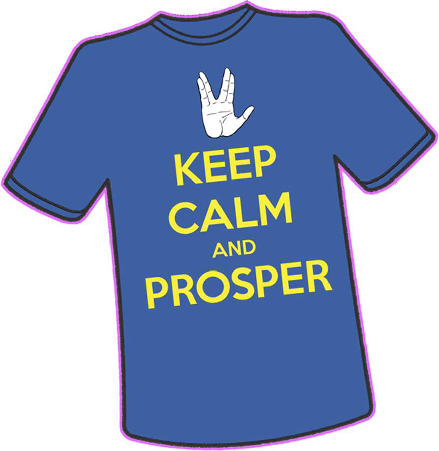 Keep Calm and Prosper T-Shirt
