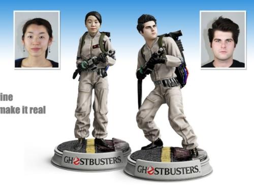 Custom GhostBusters Figures