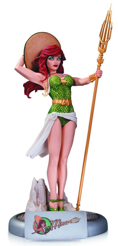 DC Comics Bomshells Mera Statue