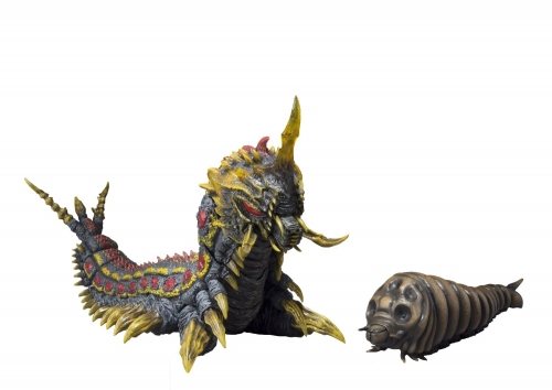 S.H. Monsterarts - Mothra and Battra Larva Form