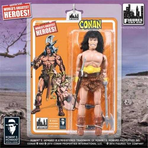 Retro Conan The Barbarian Action Figure