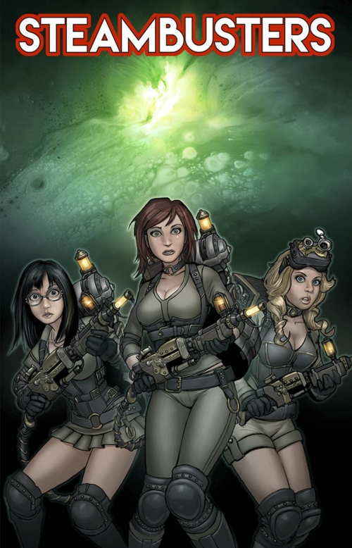 Steambusters Comic Book Cover