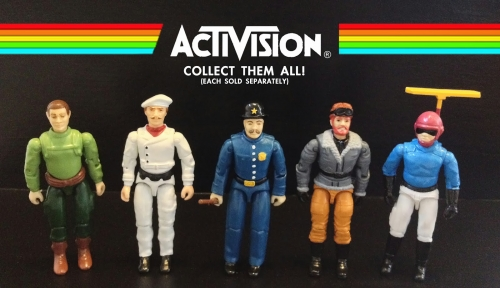Activison Custom Action Figures