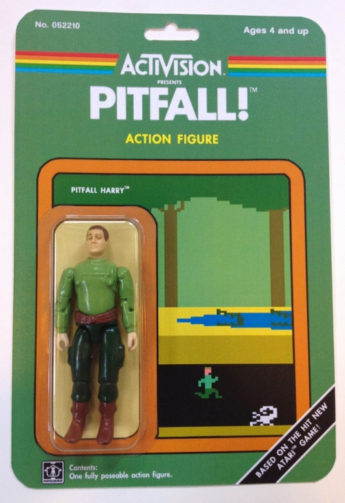 Activision Custom Action Figure - Pitfall!