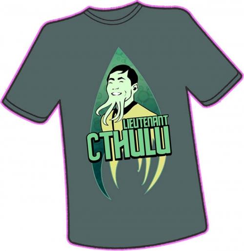 Lieutenant Cthulu T-Shirt