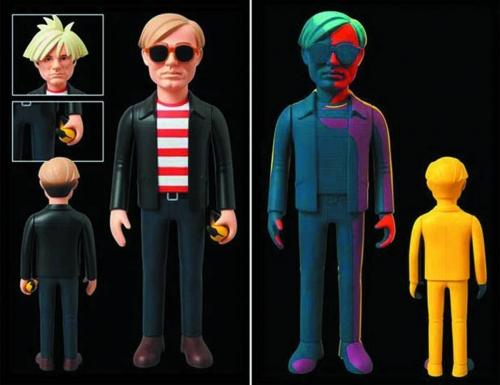 Andy Warhol - Medicom Vinyl Figures
