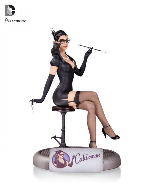 DC Comics Bombshells: Catwoman Statue