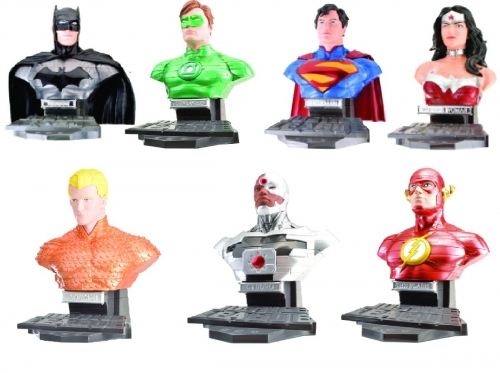 DC Heroes 3D Puzzles