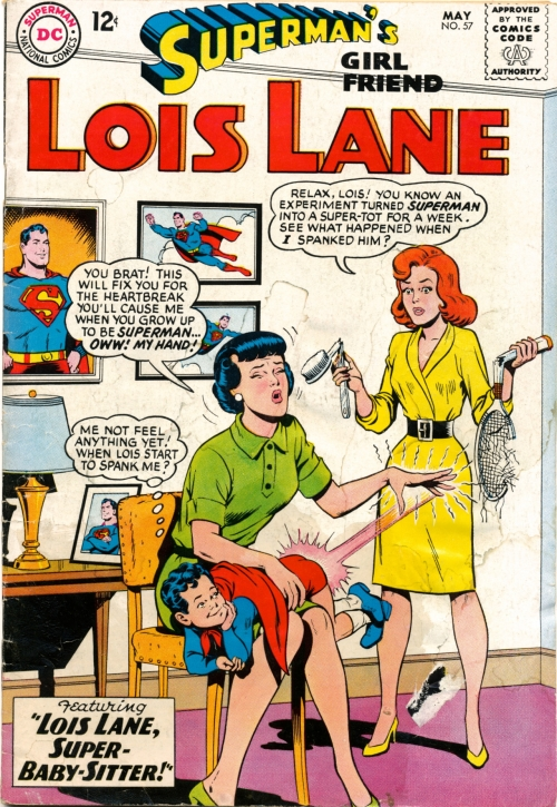 Cover of Superman's Girlfriend Lois Lane #57