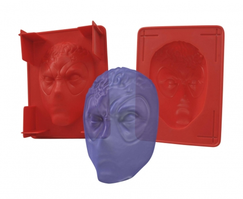 Deadpool Plastic Gelatin Mold