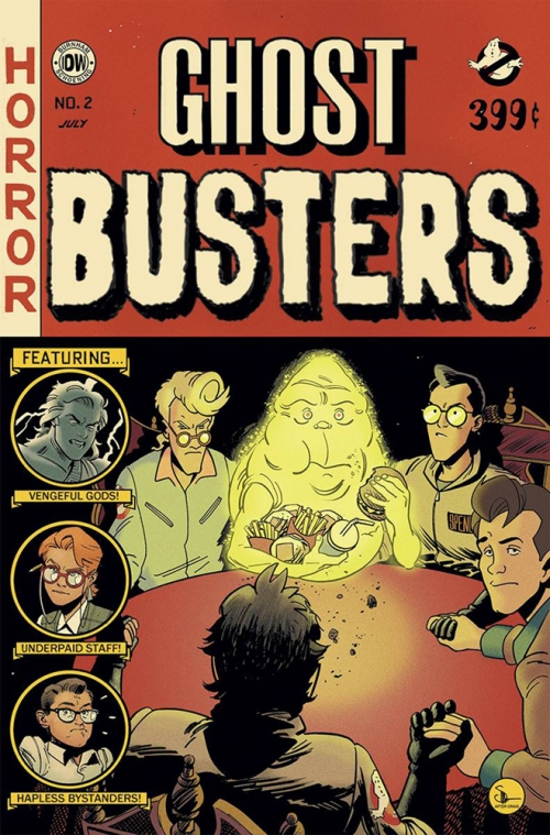 Ghostbusters: Get Real - EC Comics Cover