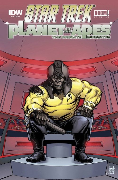 Star Trek / Planet of the Apes Crossover