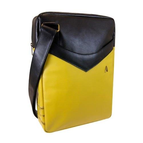 Star Trek: The Original Series Gold Uniform Laptop Bag