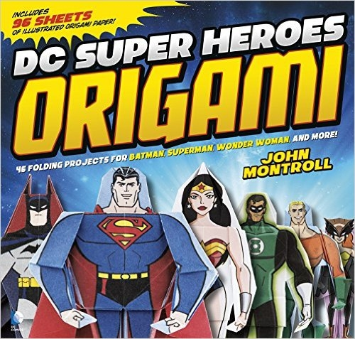 DC Super-Heroes Origami