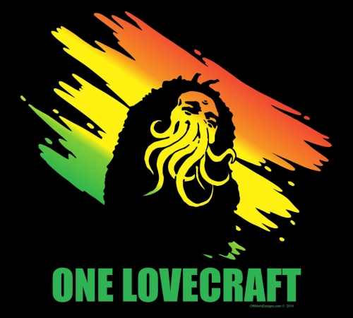 One Lovecraft T-shirt from Offworld Designs