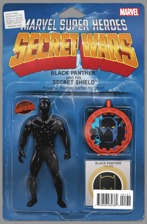 Black Panther - Secret Wars Variant Action Figure Cover