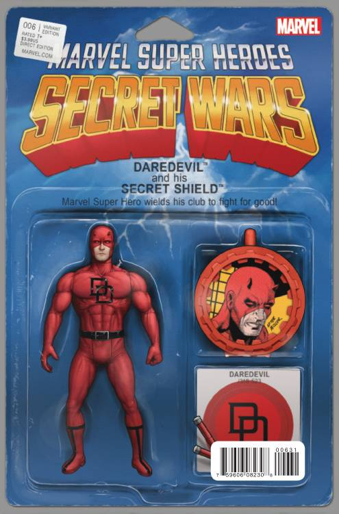 Daredevil - Secret Wars Variant Action Figure Cover