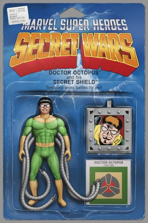 Doctor Octopus - Secret Wars Variant Action Figure Cover