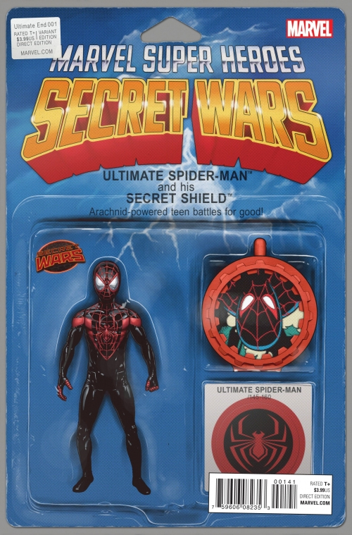 Ultimate Spider-Man - Secret Wars Variant Action Figure Cover