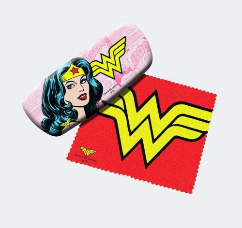 Wonder Woman Eyeglass Case