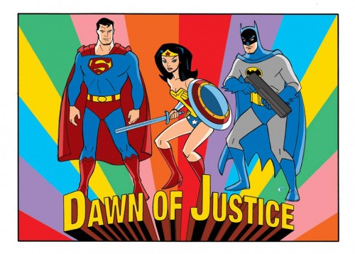Dawn of Justice - Super Friends-Style