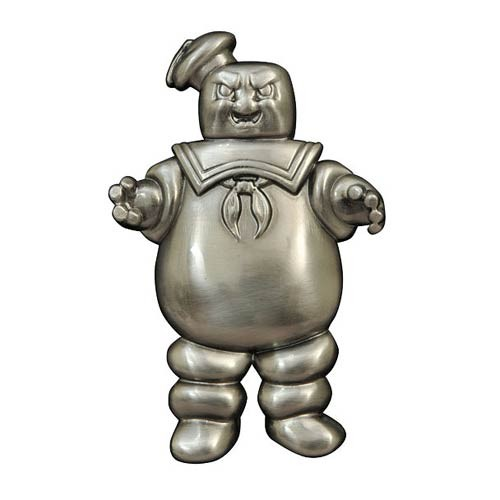 Ghostbusters Mr. Stay Puft Metal Bottle Opener