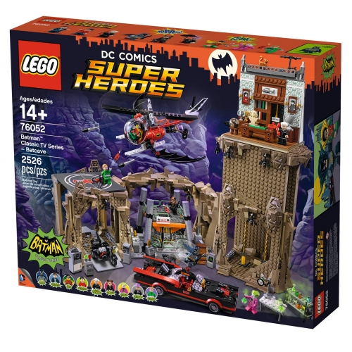 Batman Classic TV Lego Batcave