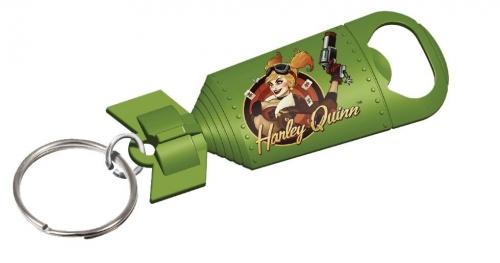 DC Bombshells Keychain Bottle Openers - Harley Quinn