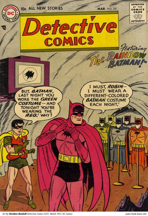 Detective Comics 241 Cover - The Rainbow Batman