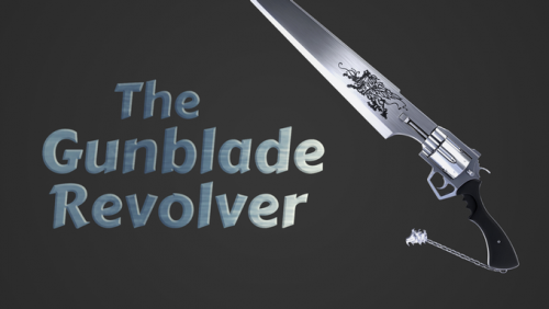 The Key Armory - The Gunblade Revolver