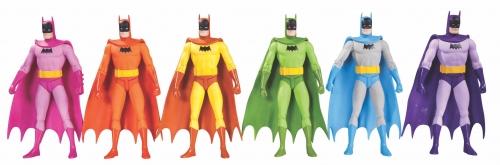 Rainbow Batman Action Figures