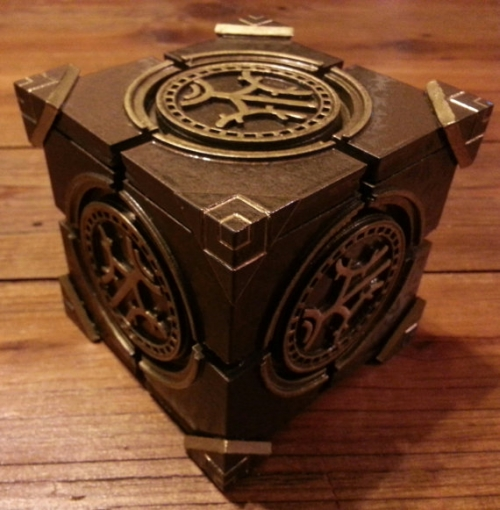 3D Printed Dwarven Lexicon from SKyrim