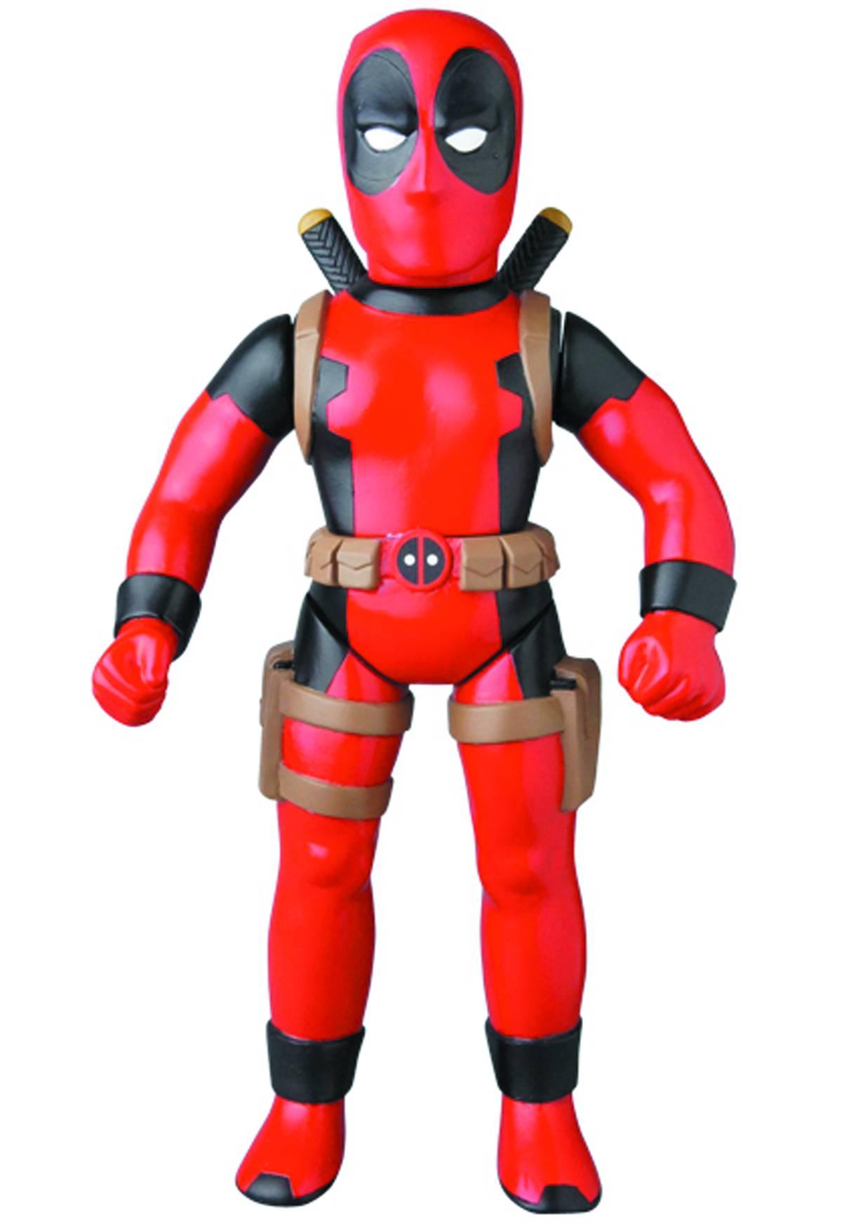 Sofubi: Marvel Retro Deadpool Sofubi