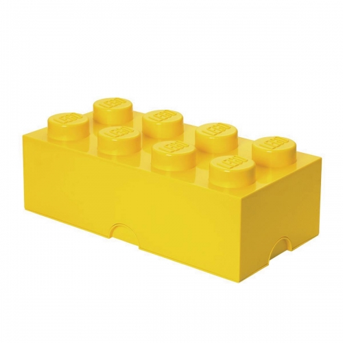 Lego Storage Brick - Yellow
