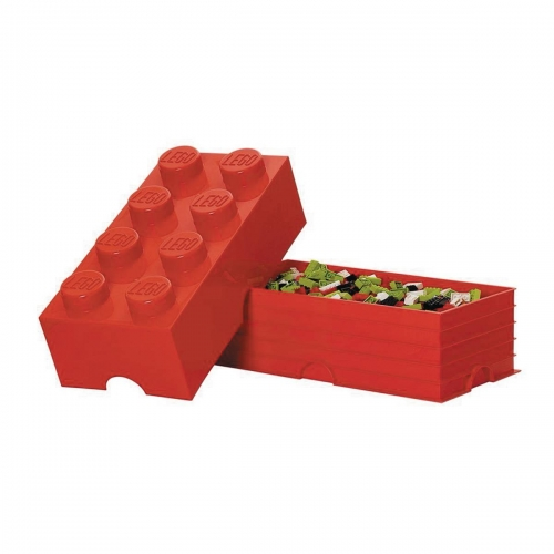 Lego Storage Brick - Red