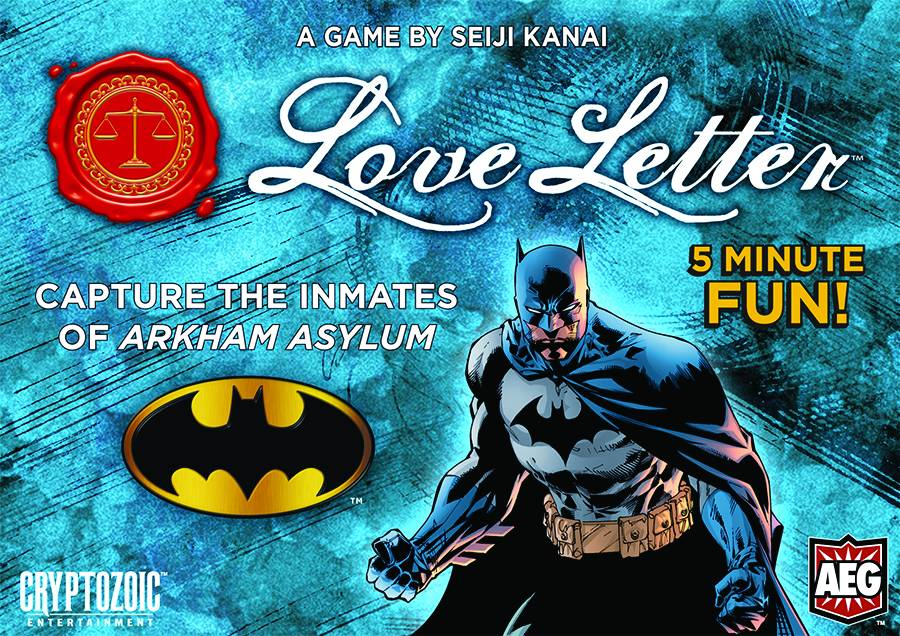 Batman Love Letter Aeg