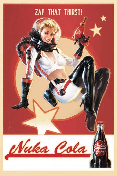 Fallout 4 Nuka Cola Tin Sign
