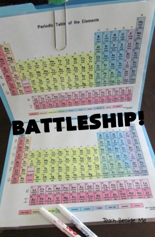 Periodic Table Battleship