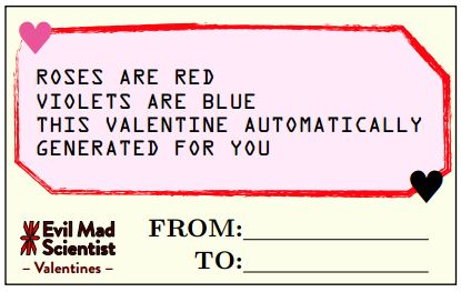 Valentines - Automatically Generated