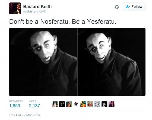 Don't Be A Nosferatu