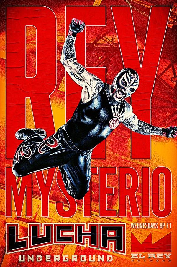 Rey Mysterio - Lucha Underground Poster