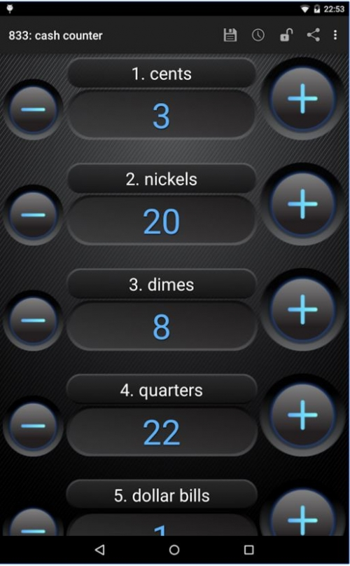 Advanced Tally Counter for Android Screenshot