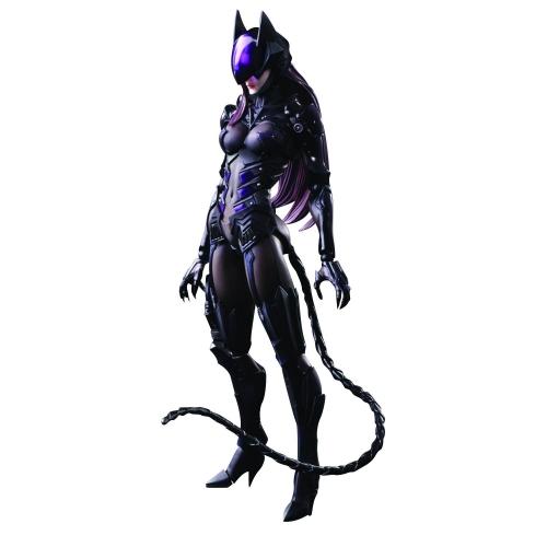 Play Arts Kai Catwoman Variant by Tetsuya Nomura