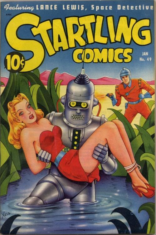 Startling Comics - Issue 49