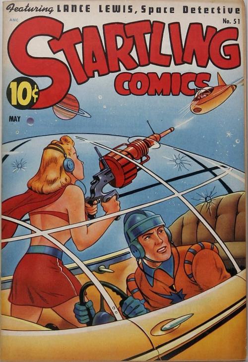 Startling Comics - Issue 51