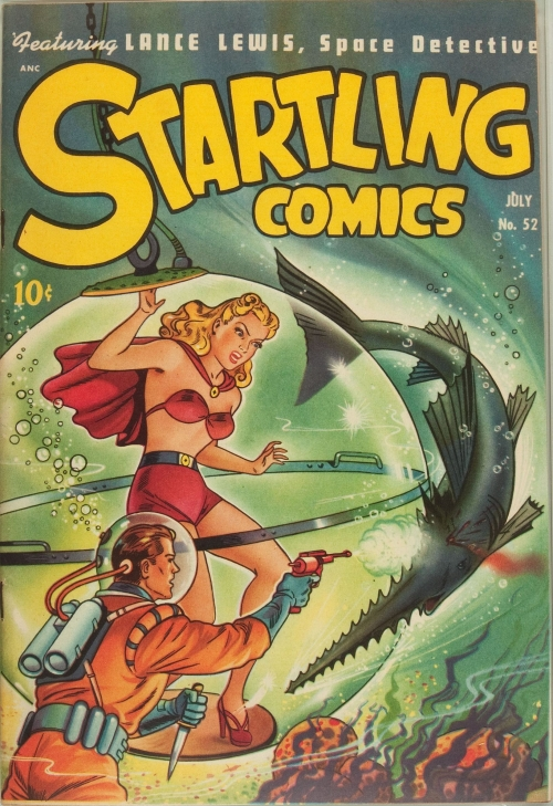 Startling Comics - Issue 52
