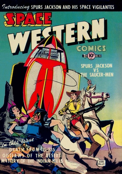 Space Western Comics - Issue 40