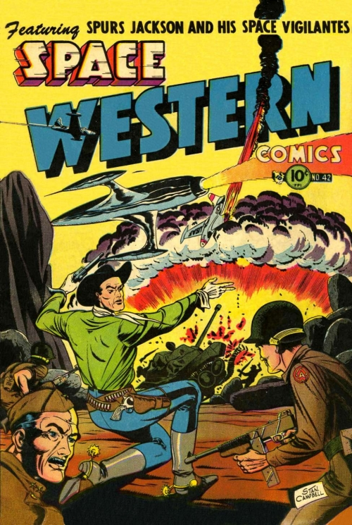 Space Western Comics - Issue 42