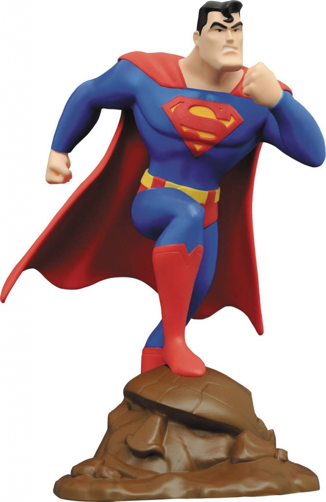 Superman The Animated Series - Superman PVC Statue